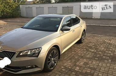 Skoda Superb ambition +доп 2016