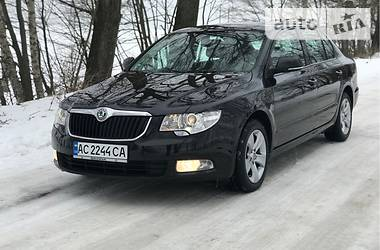 Skoda Superb 2.0 TDI LIFTBACK 2010