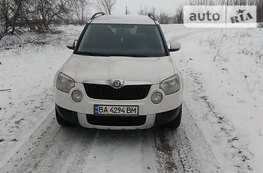 Skoda Yeti 1.8 4X4  2012