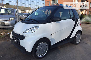 Smart Fortwo 1.0i coupe 2013