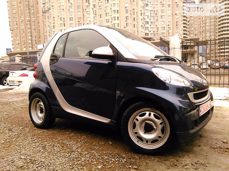 Smart fortwo 2008 года