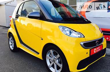 Smart Fortwo EXCLUSIVE YELLOW 2014