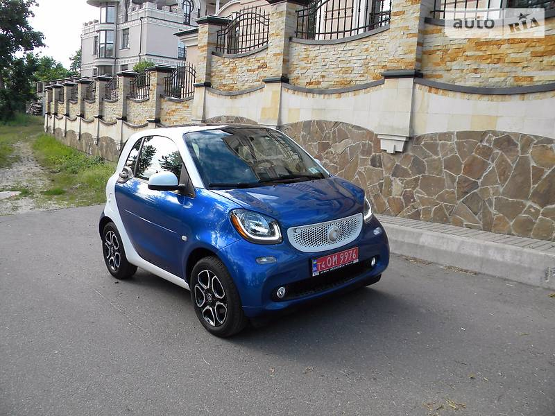 Smart fortwo 2016 года
