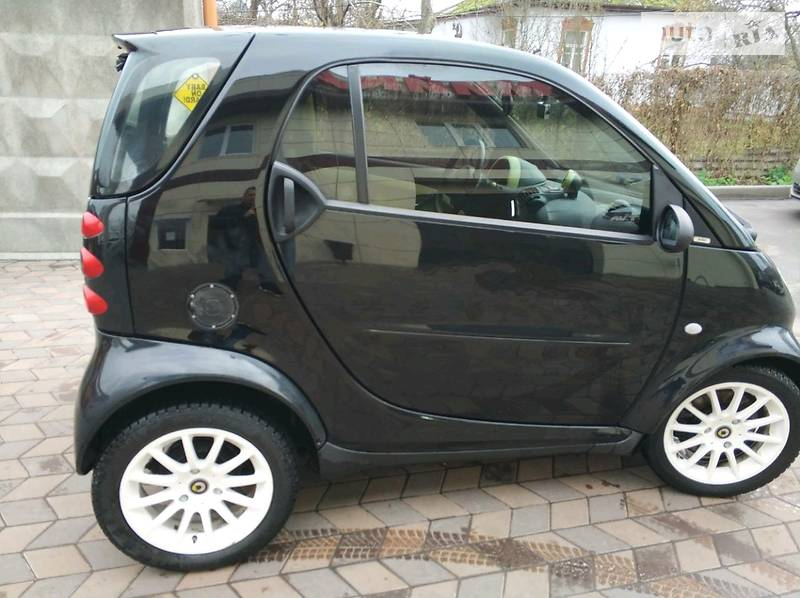 Smart fortwo 2004 года