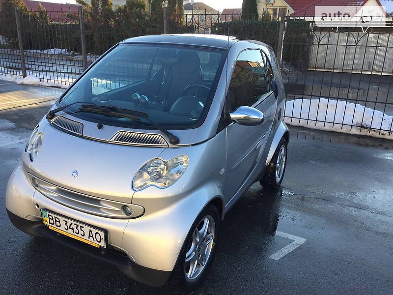 Smart fortwo 2003 года