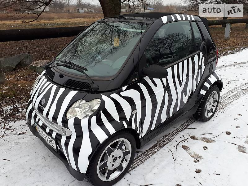 Smart fortwo 2002 года