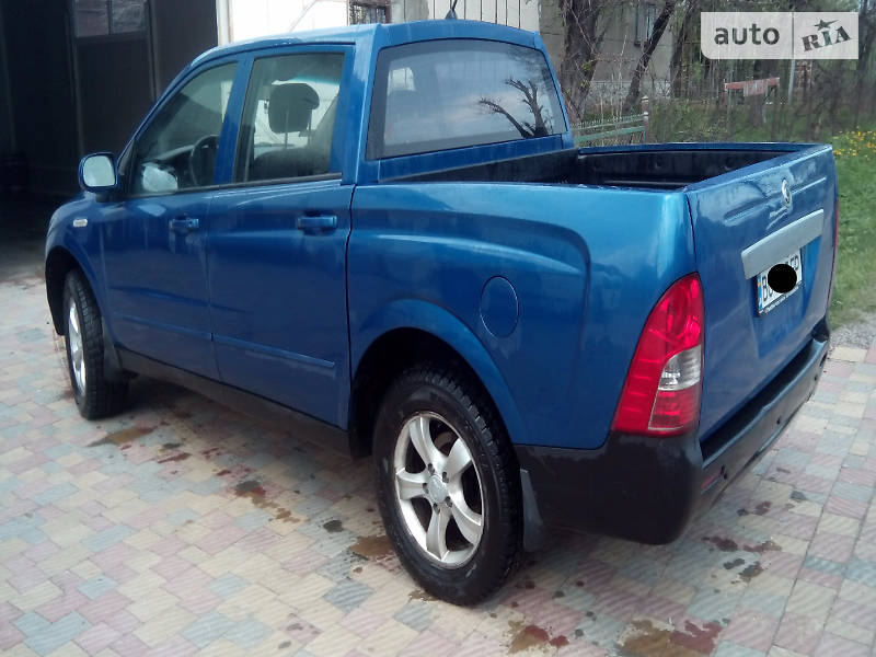 SsangYong Actyon Sports 2007 года