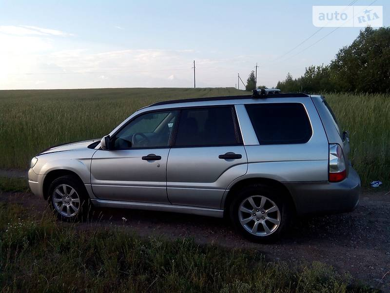 Subaru Forester 2006 года