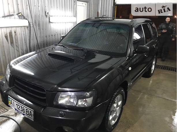 Subaru Forester 2002 року