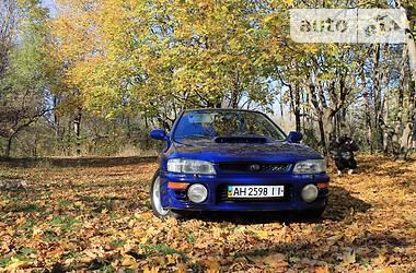 Subaru Impreza WRX Sedan  1997