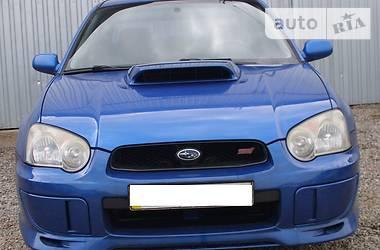 Subaru Impreza WRX Sedan  2002