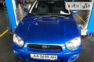 Subaru Impreza WRX Sedan  2003