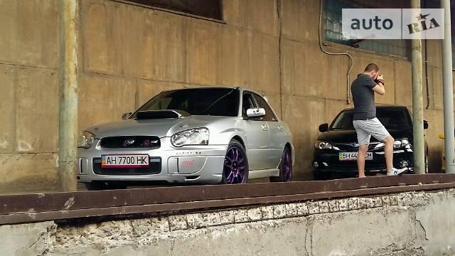 Subaru Impreza WRX STi 2003 року