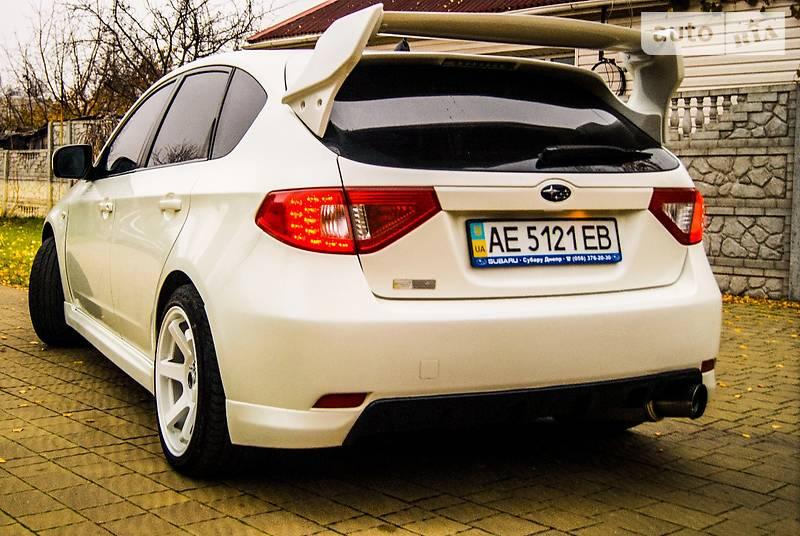 Subaru Impreza WRX STi 2008 року