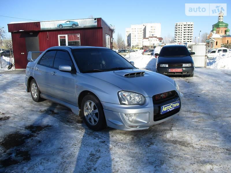 Subaru Impreza 2003 року