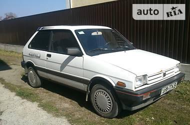 Subaru Justy  1987