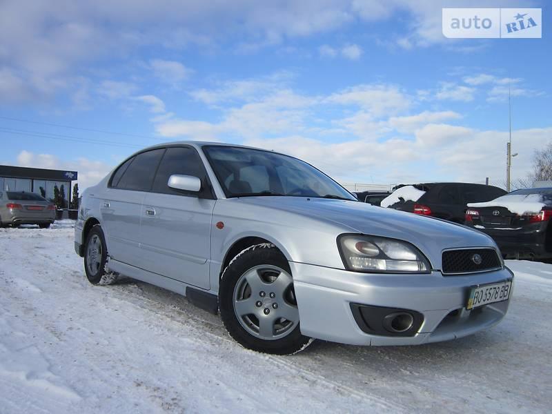 Subaru Legacy 2002 року