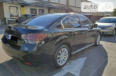 Subaru Legacy Luxury 2011