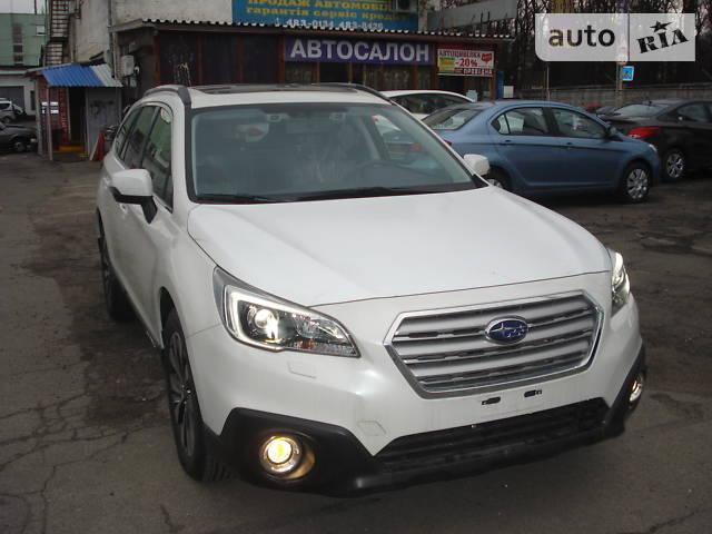 Subaru Outback 2017 года