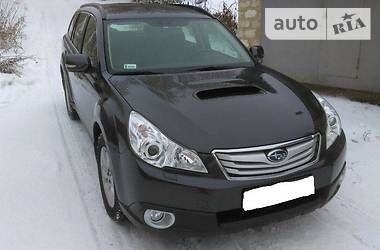 Subaru Outback Exclusive 2011