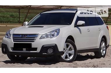 Subaru Outback DIESEL WHITE PEARL 2014