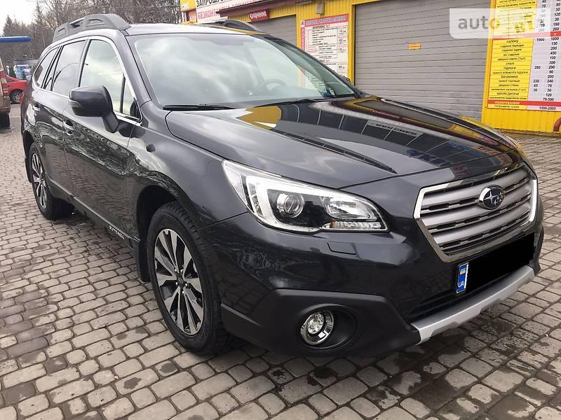 Subaru Outback 2016 року