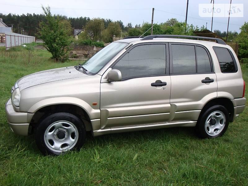 Suzuki Grand Vitara 2002 року