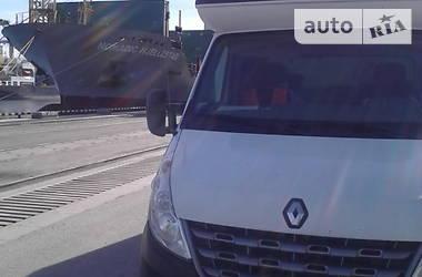 Характеристики Renault Master груз. Тентованый
