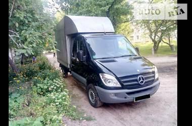Характеристики Mercedes-Benz Sprinter 316 груз. Тентованый