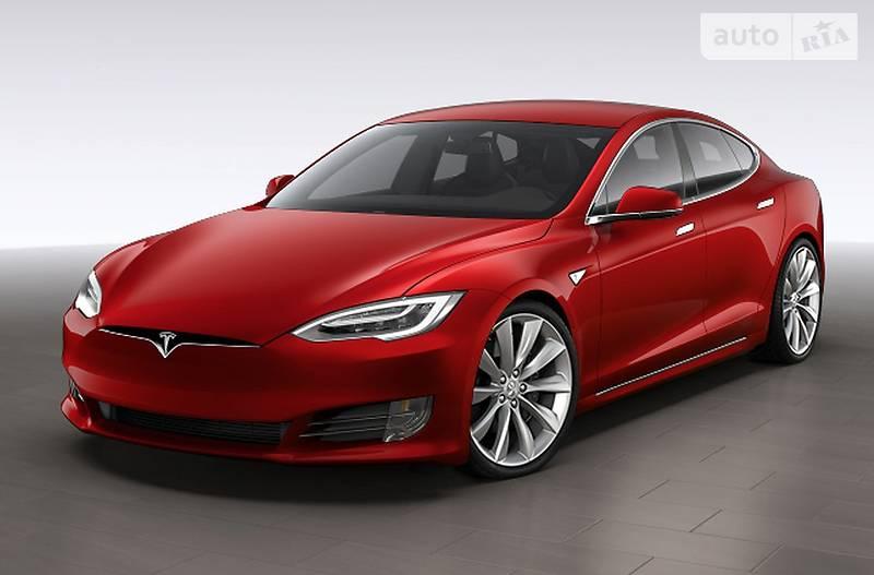 Tesla Model S 2017 року