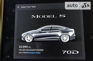 Tesla Model S 70 D 2015