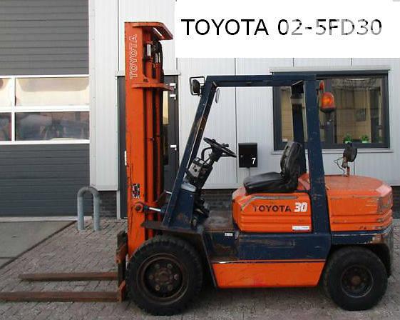 Toyota 02-5FG30