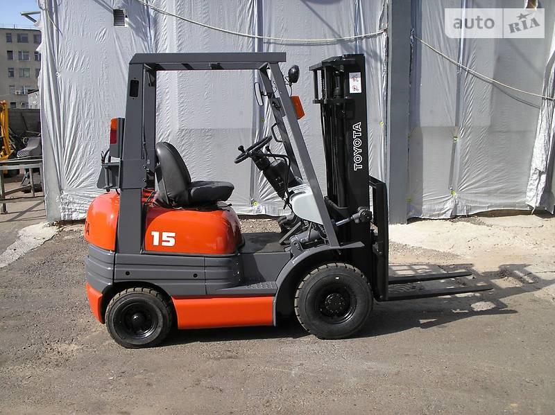Toyota 02-6FG15