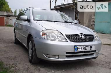 Toyota Corolla 1.4 vvt-i 2003