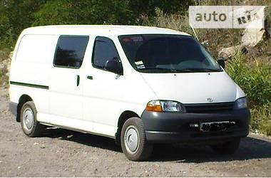 Toyota Hiace груз. Грузовой 1997