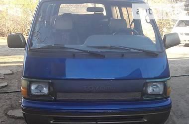 Toyota Hiace пасс.  1991