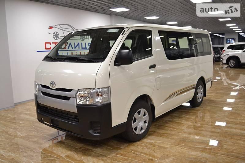 Toyota Hiace 2016 року