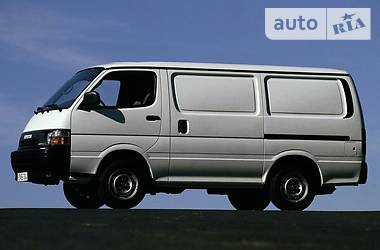 Toyota Hiace пасс.  1989