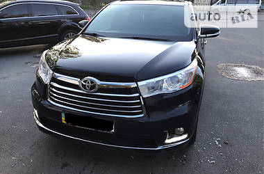 Toyota Highlander comfort 2014