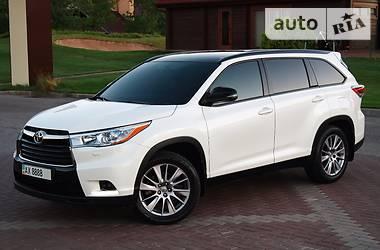 Toyota Highlander BLACK EDITION 2014