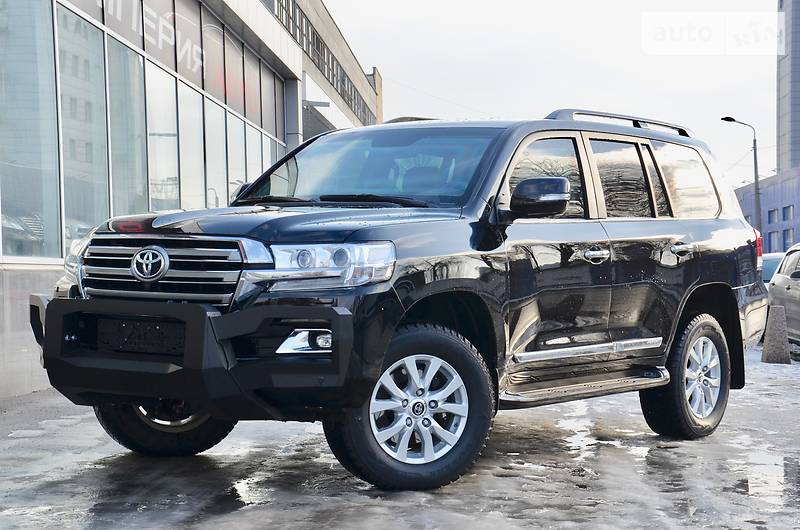 Toyota Land Cruiser 2018 года