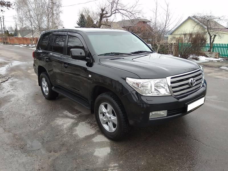 Toyota Land Cruiser 2008 року
