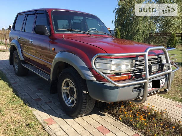 Toyota Land Cruiser 1996 года