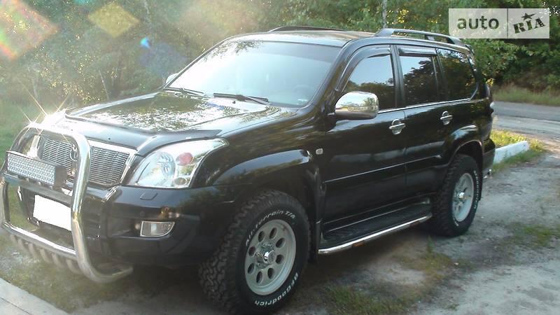 Toyota Land Cruiser Prado 2007 года