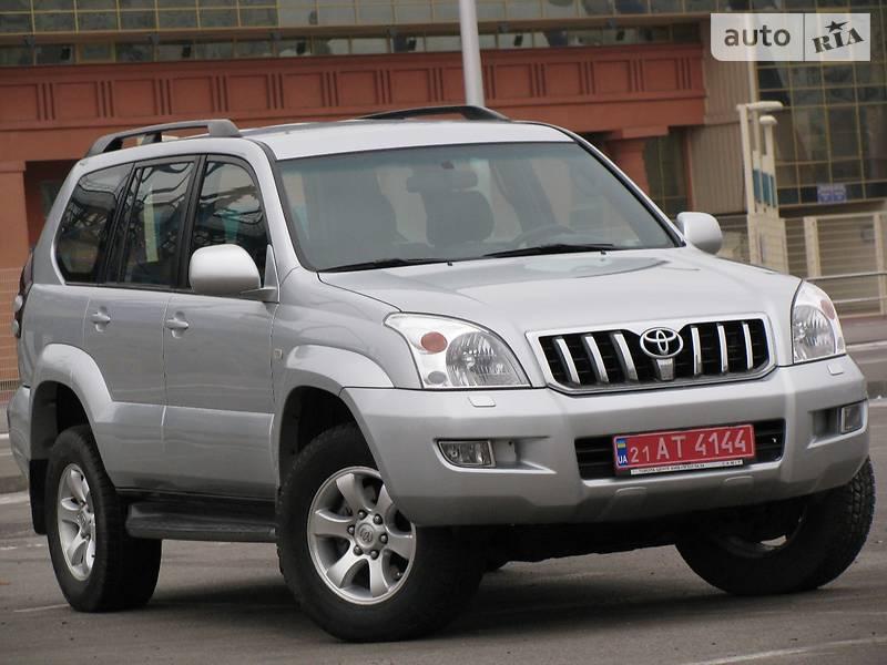 купить авто тойота прадо 120 в украине