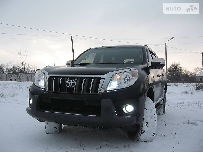 Toyota Land Cruiser Prado 2010 года