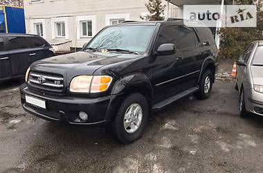 Toyota Sequoia 4.7 V8 LIMITED 2001