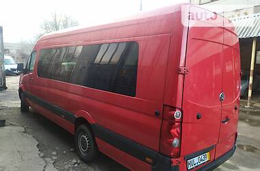 Характеристики Volkswagen Crafter пасс. Туристический / Междугородний автобус