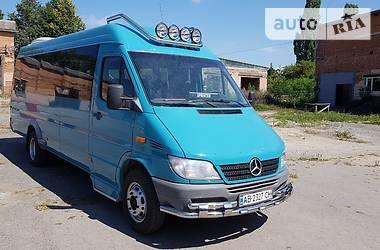 Характеристики Mercedes-Benz Sprinter 416 пасс. Туристический / Междугородний автобус