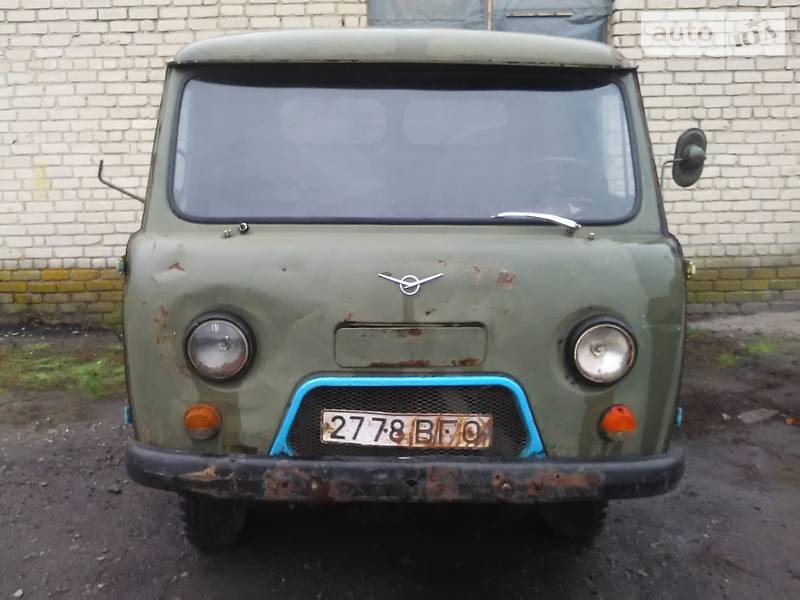 УАЗ 452 Д 1990 года